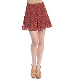 MICHAEL Michael Kors® Printed Flare Skirt