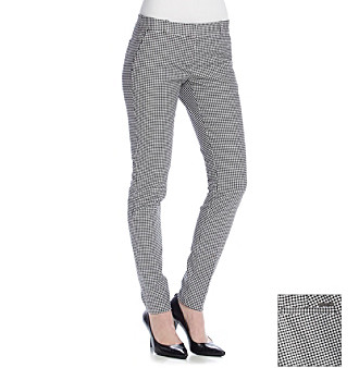 Womens Plaid Dress Pants