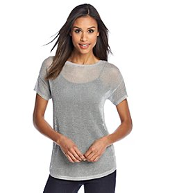 MICHAEL Michael Kors® Mesh Boxy Sweater