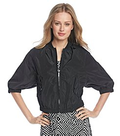 MICHAEL Michael Kors® Short Sleeve Bomber Jacket