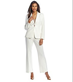 Tahari ASL® Solid Pant Suit Set