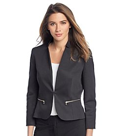 Nine West® Notch Cut Out Collar Jacket