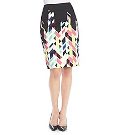Nine West® Modern Printed Skirt