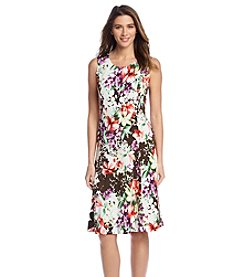 Notations® Floral Print Dress