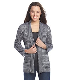 Notations® Marled Stitch Cardigan