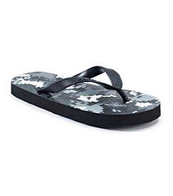 Mambo® Boys' Camo Flip Flops