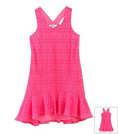 DKNY® Girls' 7-16 Sleeveless Travel Dress