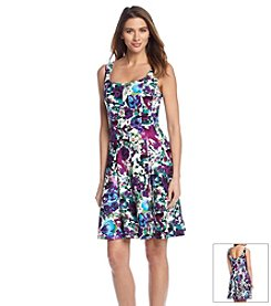 Connected® Floral Print Dress