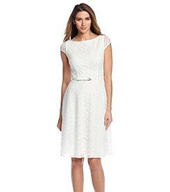 Kasper® Lace Full Skirt Dress