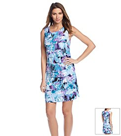 Connected® Asymmetrical Tiered Dress