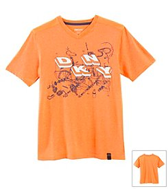 DKNY® Boys' 8-20 Mesh Back Assembly Tee