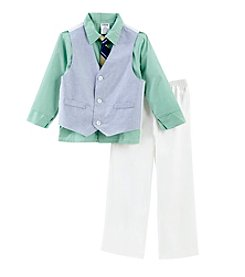 Izod® Boys' 4-7 Oxford Vest Set