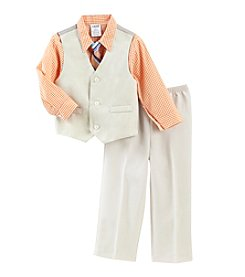 Izod® Boys' 4-7 Basketweave Vest Set
