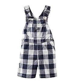 OshKosh B'Gosh® Baby Boys' Plaid Shortalls