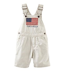 OshKosh B'Gosh® Baby Boys' Flag Canvas Shortalls
