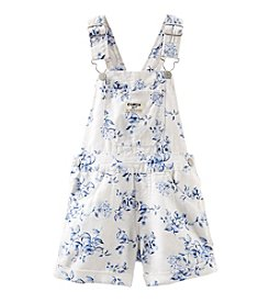 OshKosh B'Gosh® Baby Girls' Floral Linen Shortalls