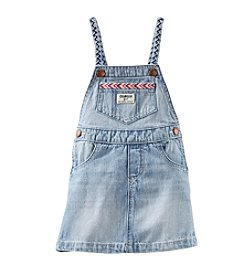 OshKosh B'Gosh® Baby Girls' Denim Jumperall