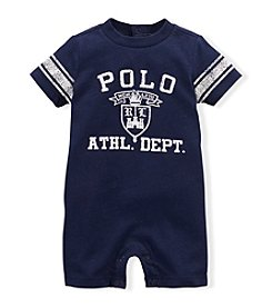 Ralph Lauren Childrenswear Baby Boys' Short Sleeve Shortall