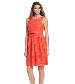 Jessica Howard® Lace Popover Dress
