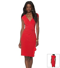 Chaps® Side Drape Dress