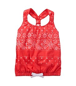 OshKosh B'Gosh® Girls' 2T-6X Bandana Tank
