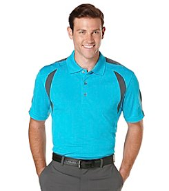 PGA TOUR® Men's 2 Color Airflux Block Polo