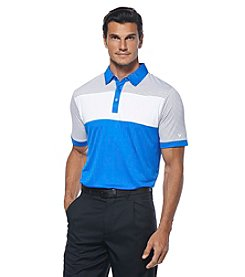 Callaway® Men's Blocked Polo With Fine Lines