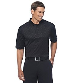 Jack Nicklaus Men's Short Sleeve Diamond Wet Print Polo