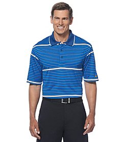 Jack Nicklaus Men's Short Sleeve Large Scale Striped Polo