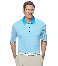 Jack Nicklaus Men's Short Sleeve Feeder Stripe Polo