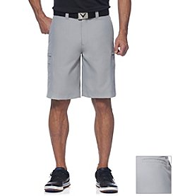 Callaway® Men's Flat Front Razor Tech Cargo Short