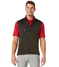 Callaway® Men's Big & Tall Full Zip Stretch Fleece Vest