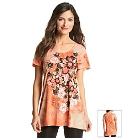 Laura Ashley® Floral Ombre Tunic