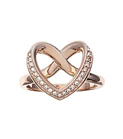Swarovski® Rose Goldtone Cupidon Ring