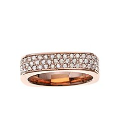 Swarovski® Rose Goldtone Vio Ring