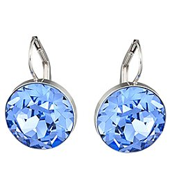 Swarovski® Silvertone Bella Pierced Earrings