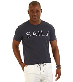 Nautica® Men's Short Sleeve Sail Crew Tee