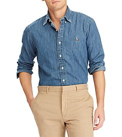 Polo Ralph Lauren® Men's Core Fit Denim Button Down Shirt