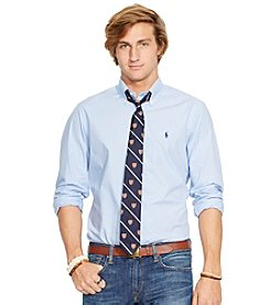 Polo Ralph Lauren® Men's Long Sleeve Check Core Fit Woven