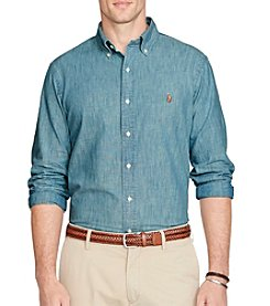 Polo Ralph Lauren® Men's Long Sleeve Chambray Core Fit Woven