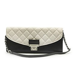 Calvin Klein Addie Leather Clutch