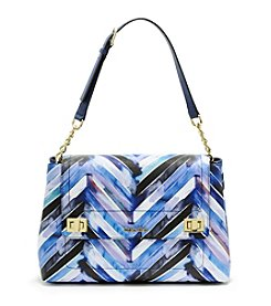 Calvin Klein Ashley Chevron Satchel