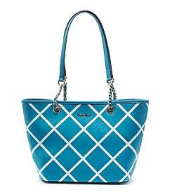 Calvin Klein Crisscross Tote Bag