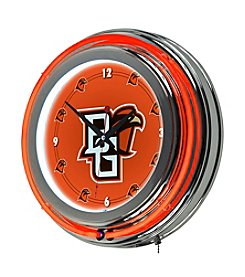 Bowling Green State University Trademark Home™ Neon Clock