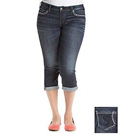 Silver Jeans Co. Plus Size Aiko Mid Capri