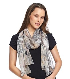 Collection 18 Rose Strokes Scarf
