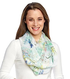 Collection 18 Tossed Garden Loop Scarf