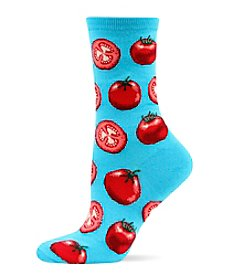 Hot Sox® Garden Tomato Crew Socks