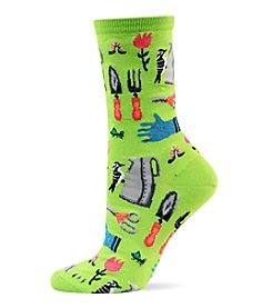 Hot Sox® Garden Tools Crew Socks