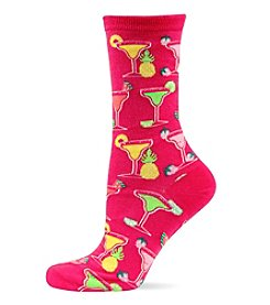 Hot Sox Margaritas Crew Socks